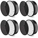 AROVEC AV-P152 Air Purifier Original Replacement Filters, High Efficiency 3-in-1 Package (Pre-Filter, True HEPA Filter and Ac