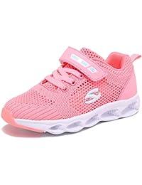 キッズ スニーカー 女の子 男の子 ランニングシューズ 通学履き 運動靴 通気 軽量 快適 ジュニア 子供靴