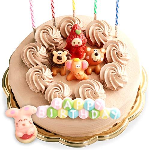 誕生日ケーキ バースデーケーキ 生チョコクリーム デコレーションケーキ 6号 [凍] 誕生日 ケーキ ギフト チョコレート飾り