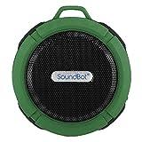 Best soundbotオーディオ - soundbot sb512HDプレミアム耐水耐衝撃Bluetoothワイヤレスシャワースピーカー、ハンズフリーポータブルスピーカーフォンW/Hi - Fi出力、マイク内蔵、6hrs Playtime、直感的なコントロールボタン、MicroUSB グリーン SB512-GRN Review