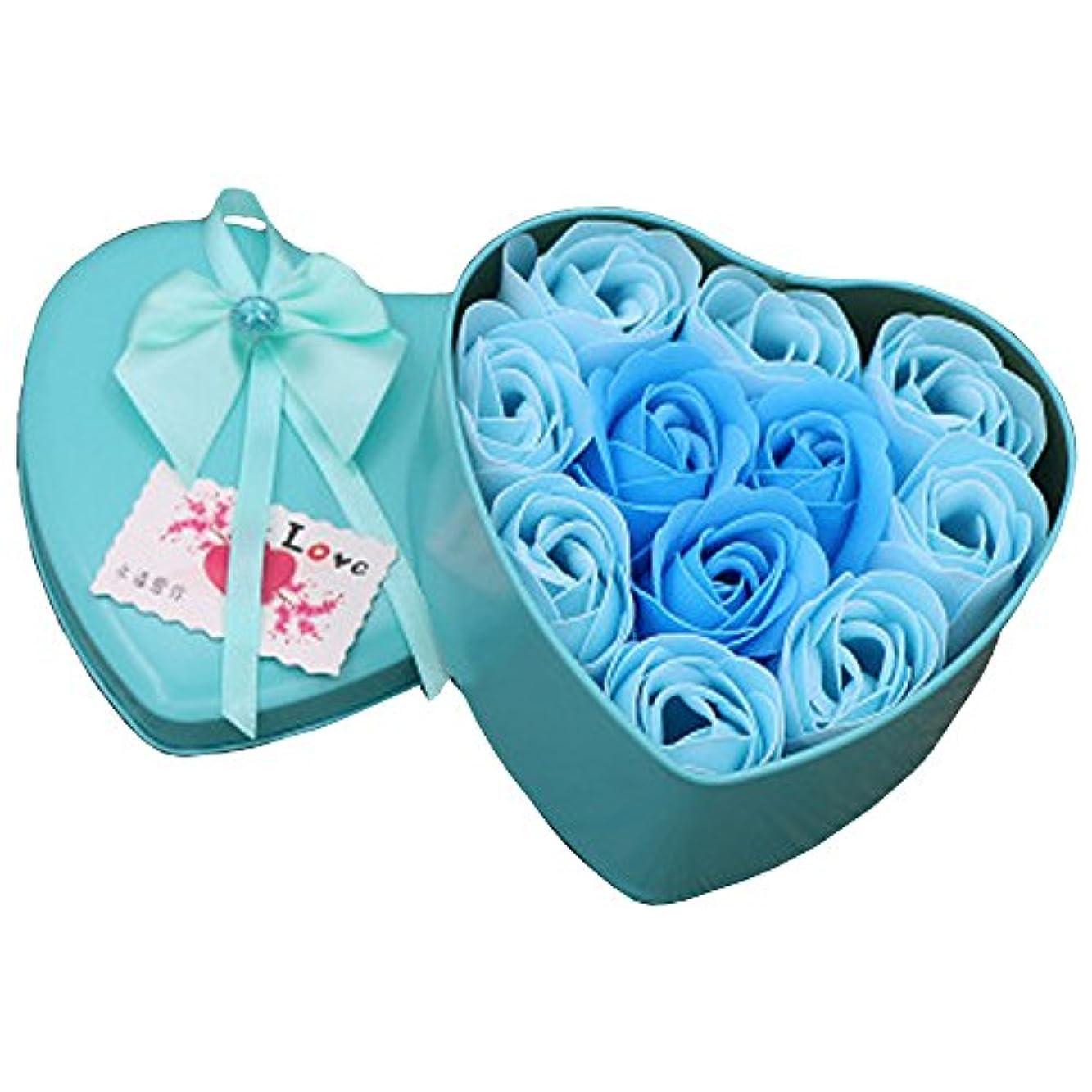 朝の体操をするセットするフェデレーションiCoole ソープフラワー 石鹸花 ハードフラワー形状 ギフトボックス入り 母の日 バレンタインデー お誕生日 ギフト