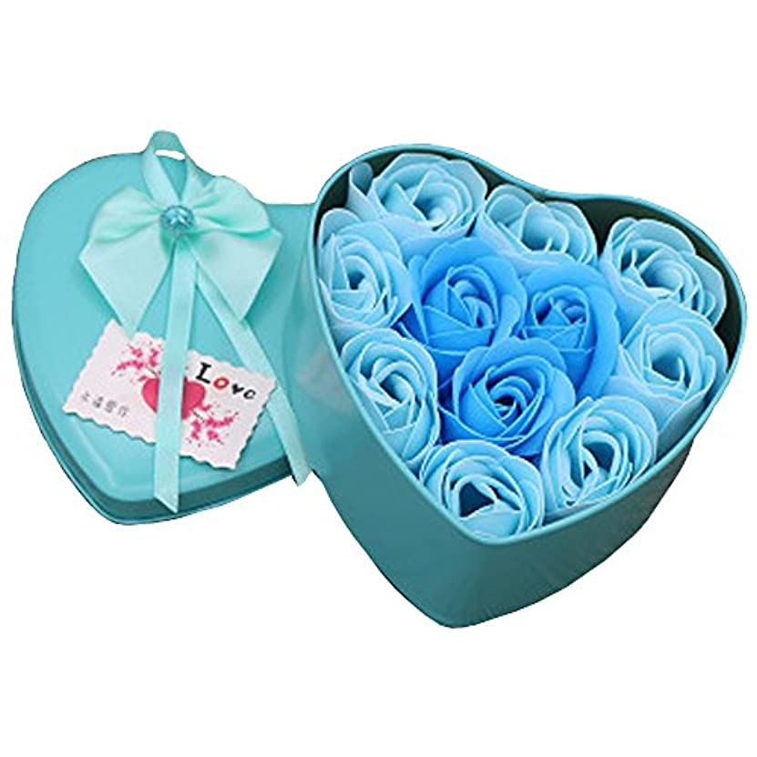 管理する独立ワイヤーiCoole ソープフラワー 石鹸花 ハードフラワー形状 ギフトボックス入り 母の日 バレンタインデー お誕生日 ギフト