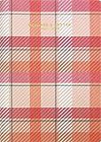 エルコミューン マトカ 手帳 2019年 4月始まり B6 ウィークリー ブロック チェック ピンク DR-WK-117
