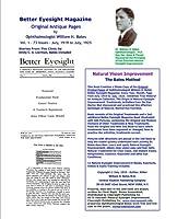 Better Eyesight Magazine: Original Antique Pages