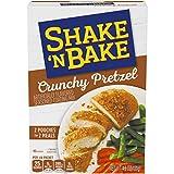 Shake 'N Bake Chrunchy Pretzel Seasoned Coating Mix (4.6oz Boxes, Pack of 8)