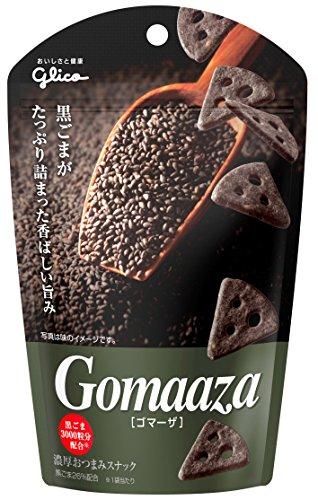 江崎グリコ ゴマーザ 40g×10個 おつまみチーズ ワインに合う スナック菓子
