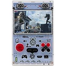 KINHANK Raspberry Pi HDMI出力ゲーム機、5.0型スクリーン携帯ゲーム機、50種類以上のシミュレータと40,000以上のゲームをサポートするビデオゲーム機