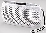 OHM AudioComm ポータブルCD/MP3/ラジオ ホワイト RCR-80Z-W