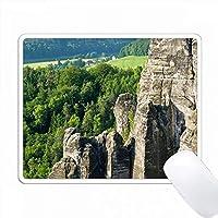 Grosse Gans - Saxon Switzerland NP、ドイツ PC Mouse Pad パソコン マウスパッド
