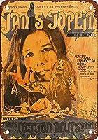 なまけ者雑貨屋 アメリカン 雑貨 ナンバープレート 1969 Janis Joplin in Wichita ヴィンテージ風 ライセンスプレート メタルプレート ブリキ 看板 アンティーク レトロ