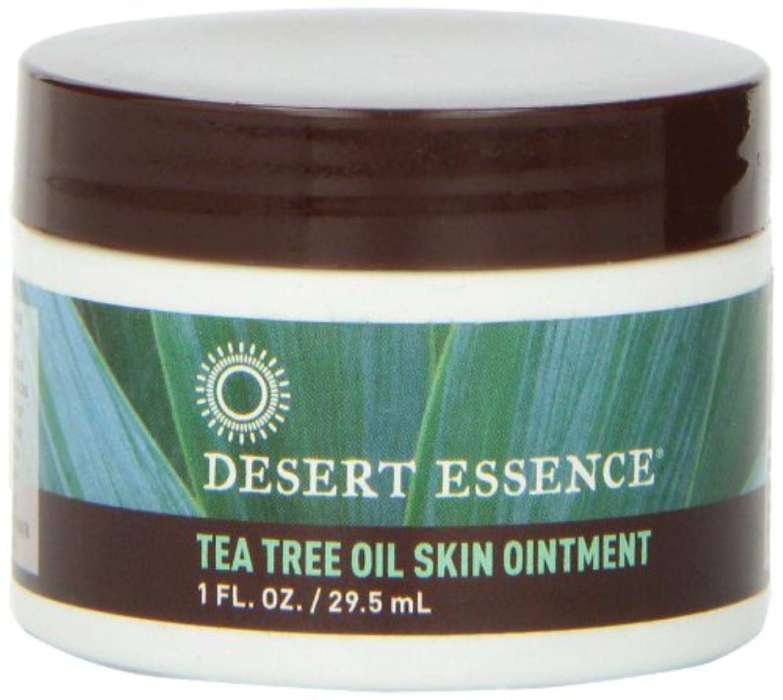 アルバム拒否輪郭Desert Essence Tea Tree Oil Skin Ointment 30Ml (並行輸入品)