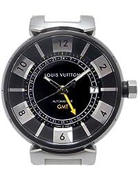 LOUIS VUITTON(ルイヴィトン) タンブール イン ブラック GMT 自動巻き デイト Q113K メンズ 中古