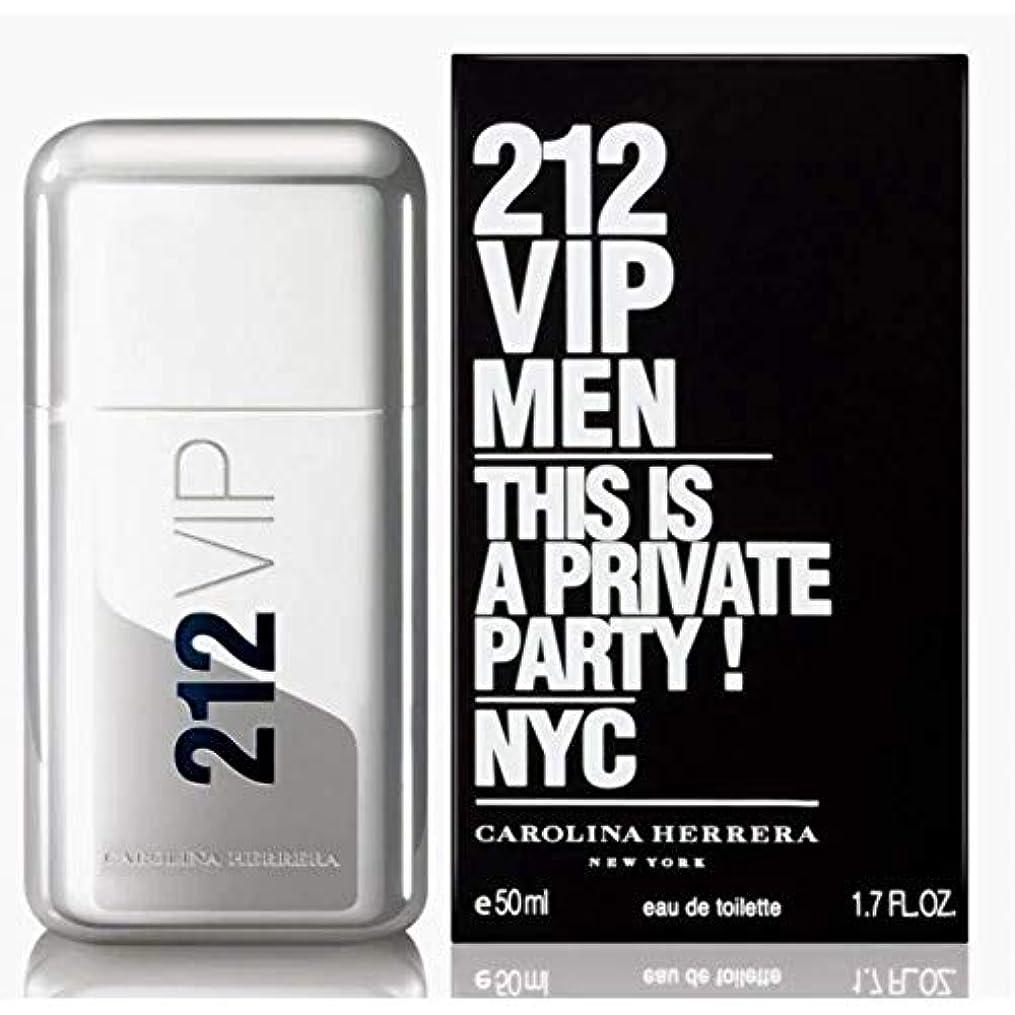 表示トロピカルウガンダ【キャロライナヘレラ】212 VIP メン EDT?SP 50ml [並行輸入品]