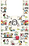 ナカジマコーポレーション スヌーピー SN エコバッグ ビンテージ フレンズ コミック ホワイト 144898-20 H63xW38xD14cm