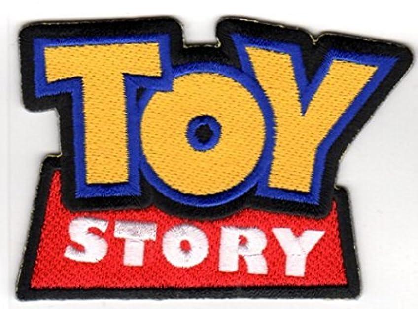 見分ける独占田舎者ワッペン ディズニー TOYSTORY トイストーリー (ロゴ) アイロン パッチ Disney PIXAR ピクサー キャラクター 雑貨 カスタム グッズ
