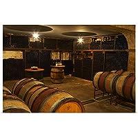 """Per・カールソンポスター印刷コーナーというタイトルの古いワインが保存さワインセラー、フランス 30"""" x 20"""" 2179355_13_30x20_none"""