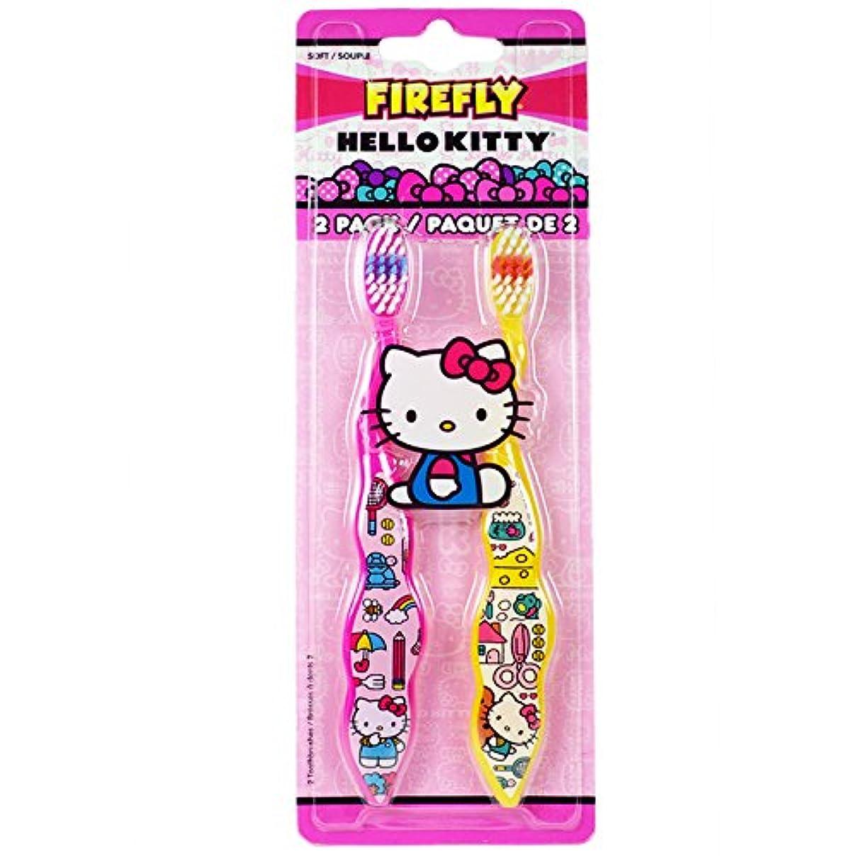体現するアヒル環境に優しいDr. Fresh Firefly Hello Kitty Toothbrush, Soft by Firefly
