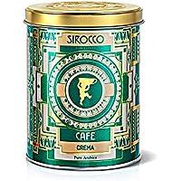 クレマ コーヒー缶(250g) SIROCCOシロッコスイス高級紅茶ハーブティーコーヒーBIO認証最高品質ヨーロッパ有名ホテル航空会社採用ギフト贈答プレゼント用 【正規輸入品】