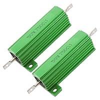 2×シャーシ50W 750オーム5%アルミケース巻線型抵抗器を搭載