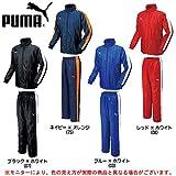 PUMA(プーマ) 裏付ウインドブレーカー上下セット 864234/864235 (L, ブルー×ホワイト(03))