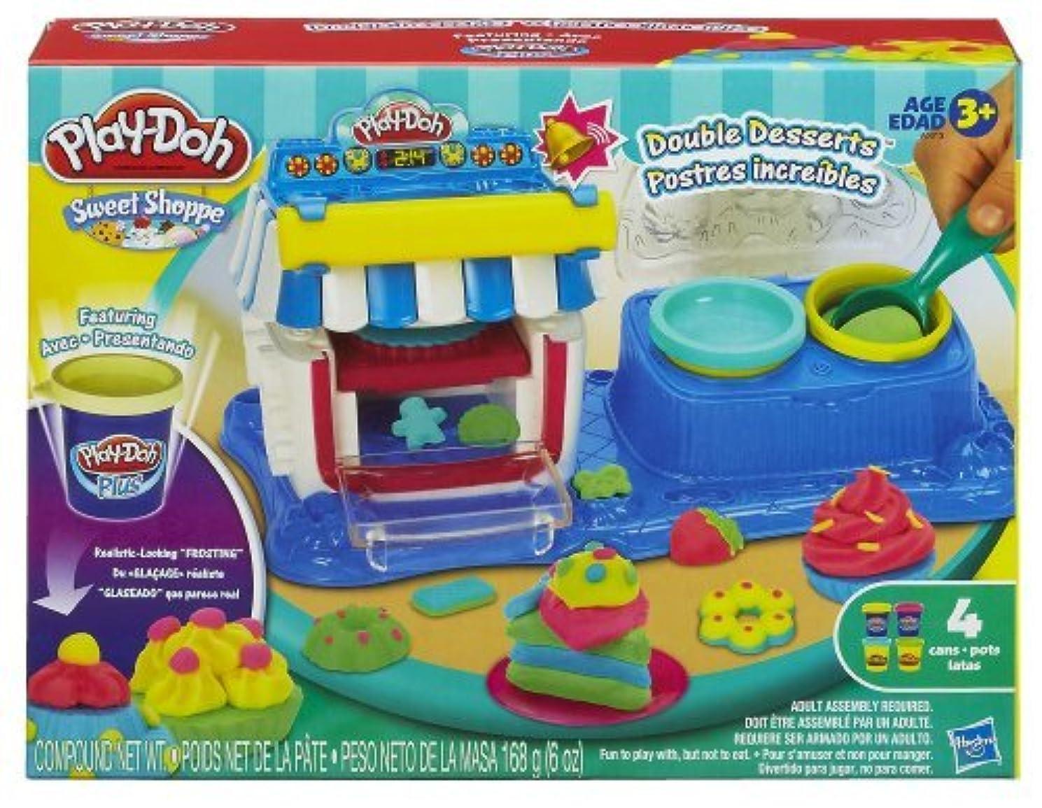 明確な修理可能支払うPlay-Doh Sweet Shoppe Double Desserts Playset [並行輸入品]