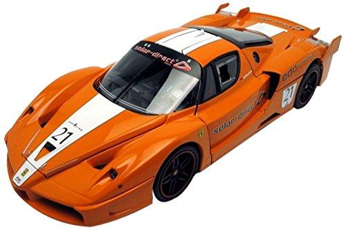MATTEL DL 1/18 フェラーリ FXX (No.21/オレンジ) エリート