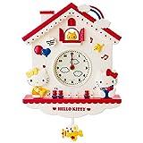 ハローキティ デコラティブ振り子時計