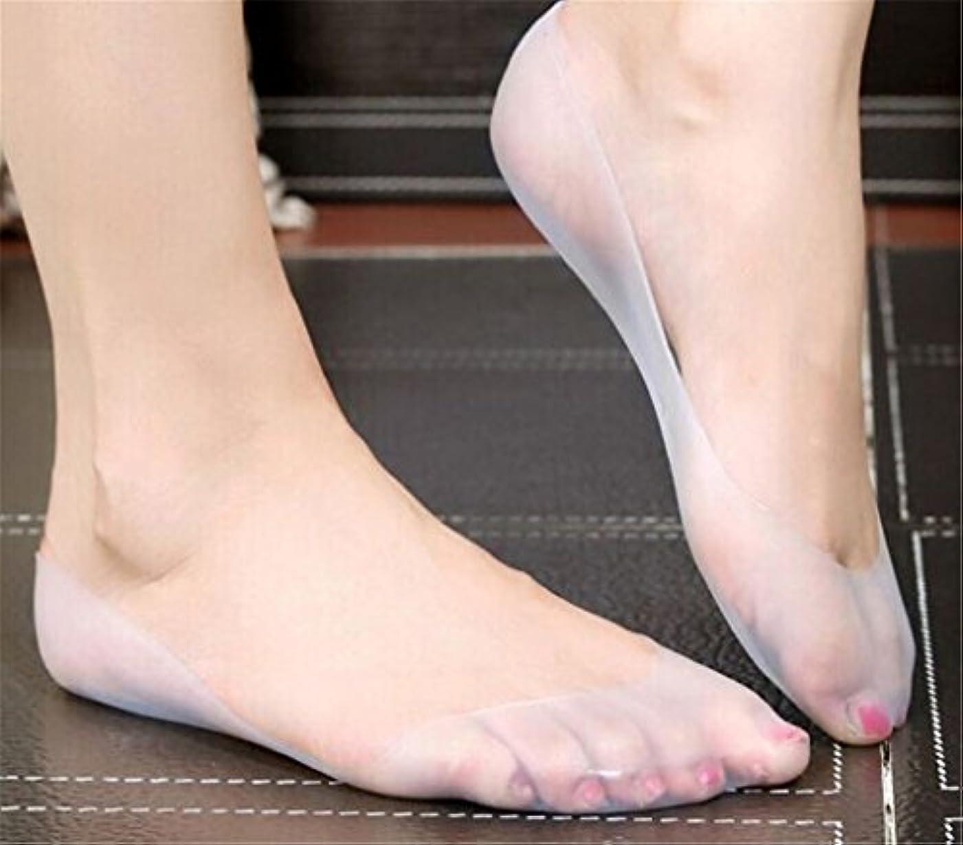 苦しみ副ディーラーchiwanji 靴下 ソックス シリコーンゲル 保湿靴下 フットケア 皮膚保護 プロテクター 再利用可能 空気乾燥