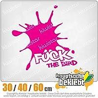 KIWISTAR - Fuck the Bird 15色 - ネオン+クロム! ステッカービニールオートバイ