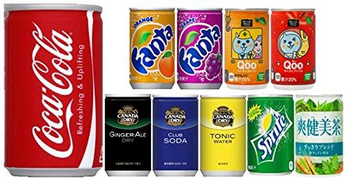 【コカコーラ社商品以外同梱不可】[30本]選べるお好きなコカコーラ製品 160ml缶選り取り 合計1ケース (コカ・コーラ160ml缶×30本)