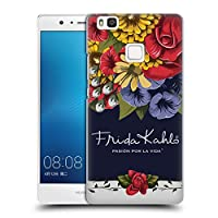 Official Frida Kahlo ブルーム レッド・フローラル ハードバックケース Huawei P9 Lite / G9 Lite