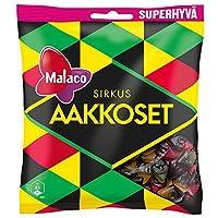 マラコ サーカス アルファベット フルーツ&リコリス グミ 315g入り×1袋 お馴染みのスゥエーデンのお菓子です Malaco Sirkus Aakkoset 315g [並行輸入品]