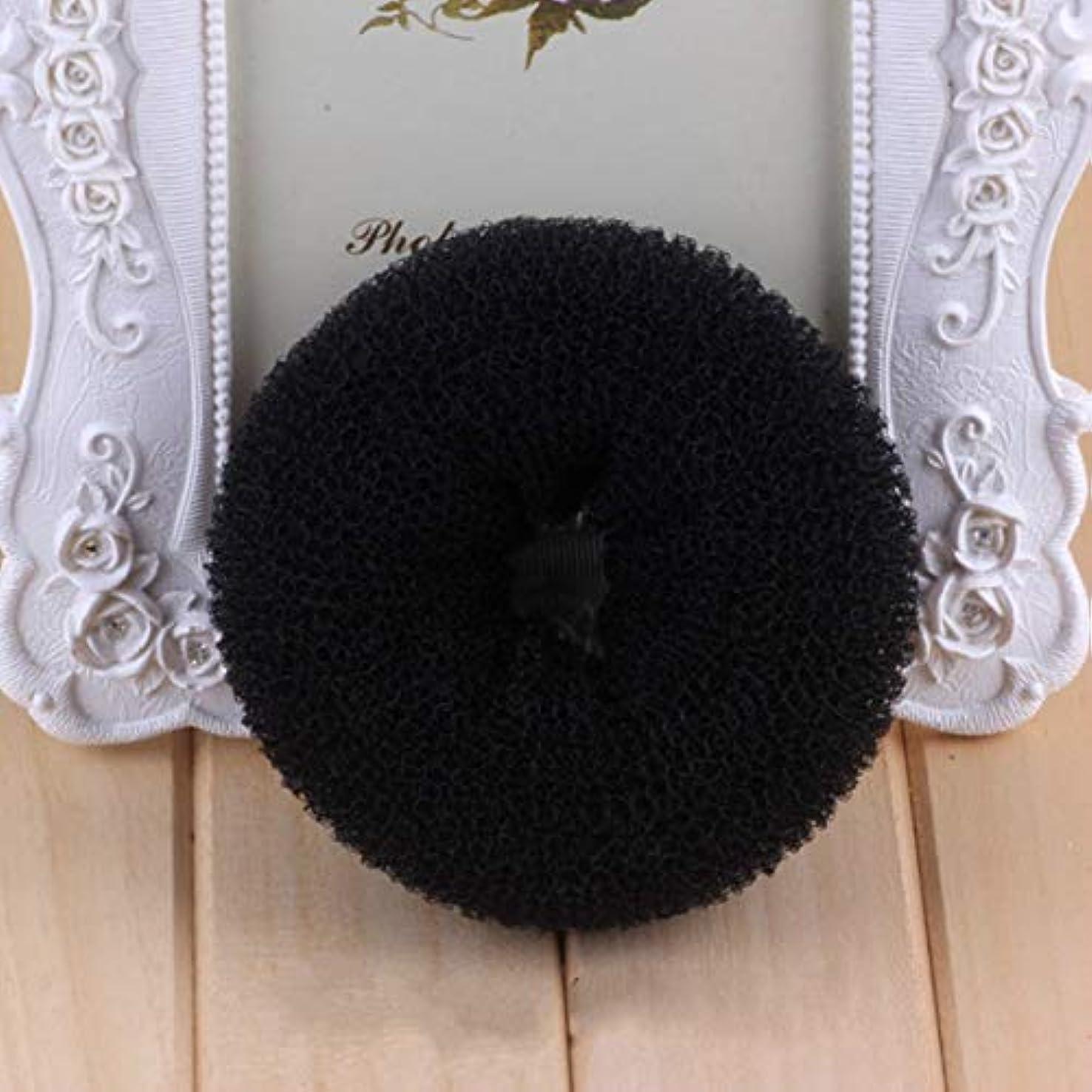 ぬいぐるみサラミ凍るIntercoreyヨーロッパアメリカのファッションポータブル女性アップヘアスタイリングバンドDIYヘアパンメーカーカーラークイック折りたたみラップ用品
