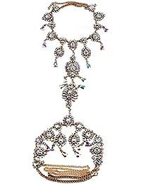 SONONIA  ブライダル/結婚式 タッセル 体チェーン ハーネス ネックレス ファッションジュエリー ゴールド