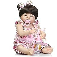 SC人形Rebornベビー人形、フルシリコンボディLifelike新生児赤ちゃん人形、21インチGirl Boy toy-annie