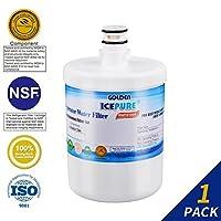 Icepure冷蔵庫水フィルター交換と互換性LG lt500p、5231ja2002、Kenmore 46–9890、sgf-la22、wf-290、wsl-1、adq72910901、adq72910902and More 1 PACK RWF0100A