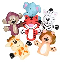 Animal Finger Puppets -12 Per Package ? Fun Toy For Boys And Girls ? By Kidsco [並行輸入品]