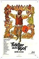 映画の金属看板 ティンサイン ポスター / Tin Sign Metal Poster of Movie Fiddler on the Roof