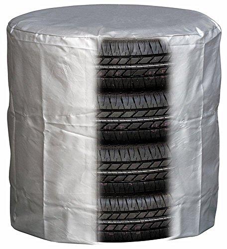 メルテック タイヤカバー(S) 軽自動車用(タイヤ幅165mm以下) 参考タイヤサイズ:165 50R15、165 55R14、155 65R14、155 65R13 Meltec TC-01