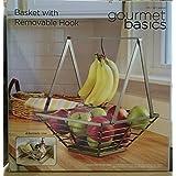 グルメベーシック かご・バスケット バスケット BY MIKASA スクエアバスケット バナナフック付き