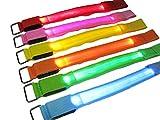 Premism(プレミズム)LED アームバンド ライト【USB充電式】ジョギング・ウォーキング・散歩に最適 【日本語説明書付】