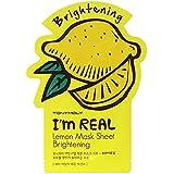 トニーモリー I'm Real Mask Sheet - Lemon - Brightening 10x21ml/0.71oz