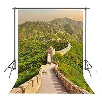 fuermor 5x 7ft中国Great壁写真小道具バックドロップスタジオ写真背景gyfu113