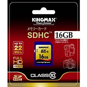 KINGMAX SDHCカード class10 16GB 永久保証 KM-SDHC10X16G