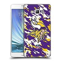 オフィシャル NFL カモフラージュ ミネソタ・バイキングス ロゴ ハードバックケース Samsung Galaxy A7