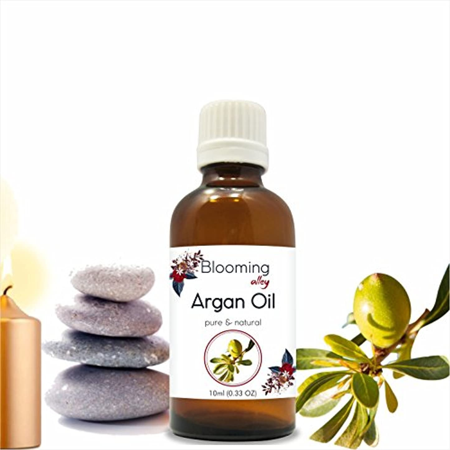 アーカイブ従う上下するArgan Essential Oil(Argania spinosa L) 10 ml by Blooming Alley