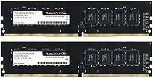 TEAM DDR4 PC4-19200 DDR4 2400MHzシリーズ Ecoパッケージ (8GBx2枚(16GBkit))