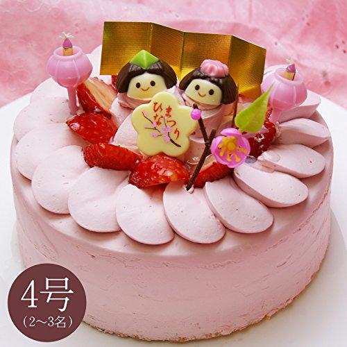 パティシエのひな祭りケーキ「Hi-na-ma-tsu-ri」4号サイズ(2名?3名様)【お届け日:3月3日】≪パティスリー『TakaYanai』≫