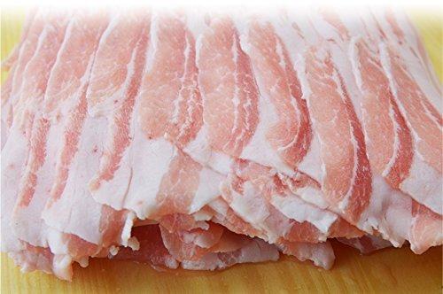 焼肉中村屋 岡山県産ピーチポーク豚バラ300g(しゃぶしゃぶ すき焼き)ギフト 化粧箱 お急ぎ スライス