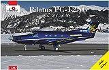 Aモデル 1/72 ピタラス PC-12NG単発ビジネス機 スイス エア・コルヴィリア社機 プラモデル AM72367